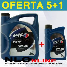 Elf Evolution 900 FT 5W40 (5L+1L) - 28.50 €