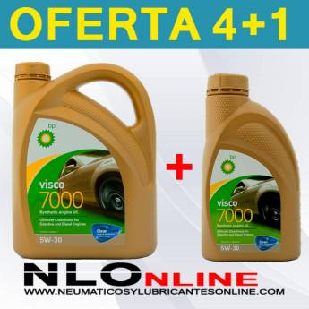 Bp Visco 7000 5W30 (4L + 1L) - 35.50 €