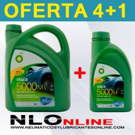 Bp Visco 5000M 5W30 (4L + 1L) - 31.50 €