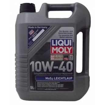 LIQUI MOLY MoS2 LEICHTLAUF 10W40 5L - 26.95€
