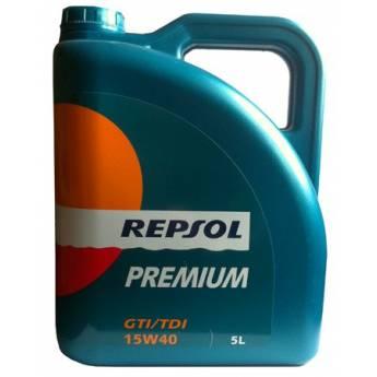 Repsol Premium GTI/TDI 15W40 5L - 18.50 €
