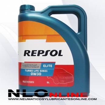 Repsol Elite Turbo Life 0W30 506.01 5L - 39.95 €