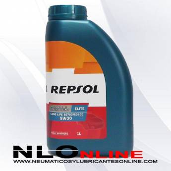 Repsol Elite Long Life 5W30 50700/50400 1L - 9.50 €