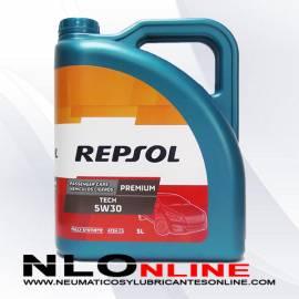 Repsol Premium Tech 5W30 5L - 22.95 €