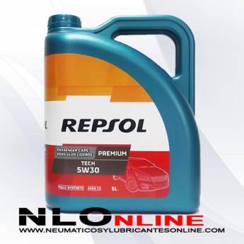 Repsol Premium Tech 5W30 5L - 21.95 €