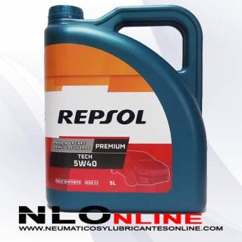 Repsol Premium Tech 5W40 5L - 22.25 €
