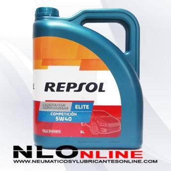 Repsol Elite Competición 5W40 5L - 23.50 €