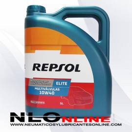Repsol Elite Multiválvulas 10W40 5L - 22.45 €