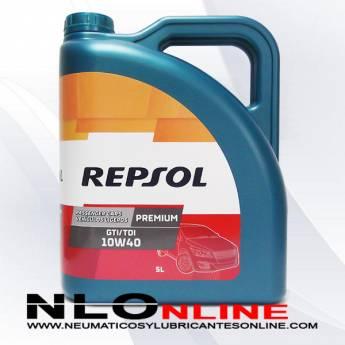 Repsol Premium GTI/TDI 10W40 5L - 18.50 €
