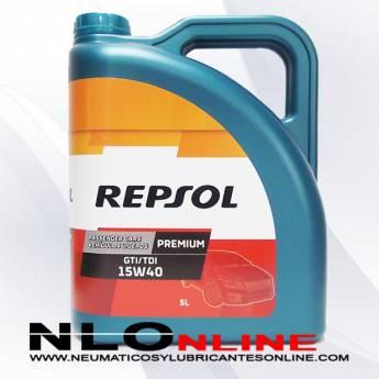 Repsol Premium GTI/TDI 15W40 5L - 16.75 €