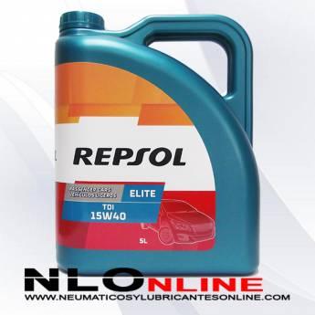 Repsol Elite TDI 15W40 5L - 20.50 €
