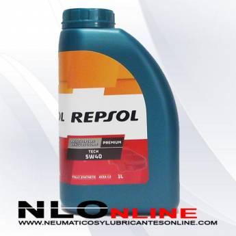 Repsol Premium Tech 5W40 1L - 8,50 €