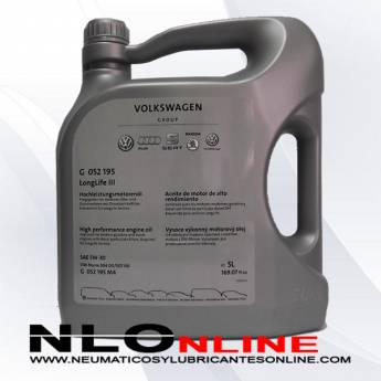 VW Original 5W30 Long Life III 5L - 37.50 €