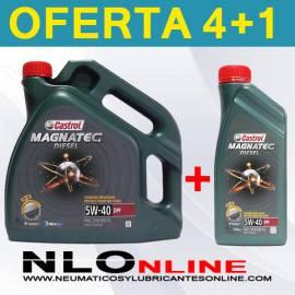 Castrol Magnatec Diesel 5W40 DPF (4L+1L) - 31.50 €