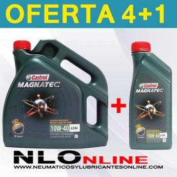 Castrol Magnatec 10W40 A3/B4 (4L + 1L) - 29.40 €