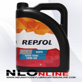 Repsol Diesel Super Turbo SHPD 15W40 5L - 19.95 €