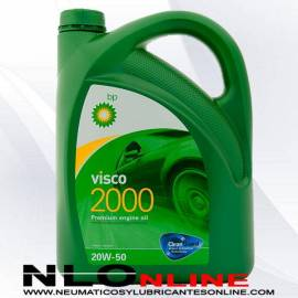 Aceite motor BP Visco 2000 20W50 5L