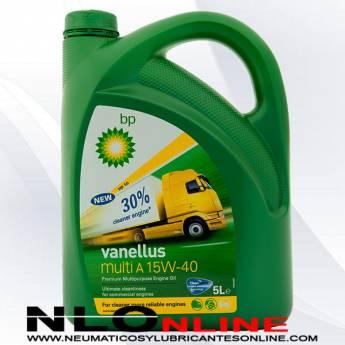 BP Vanellus Multi A 15W40 5L - 20.50 €