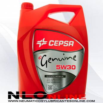 Cepsa Genuine 5W30 5L - 19.75 €