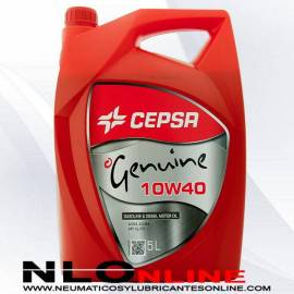 Cepsa Genuine 10W40 5L - 16.75 €