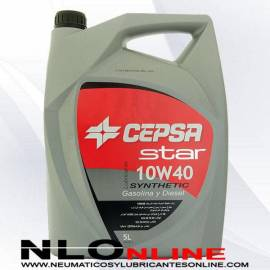 Aceite motor Cepsa Star Synthetic 10W40 5L