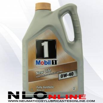 Mobil 1 0W40 New Life 5L- 37.95 €