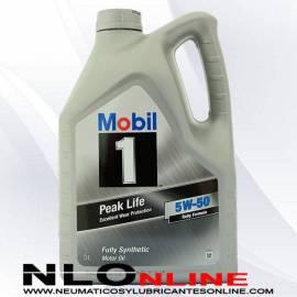 Mobil 1 5W50 Peak Life 5L