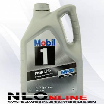 Mobil 1 5W50 Peak Life 5L - 37.95 €