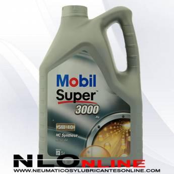 Mobil Super 3000 X1 5W40 5L - 28.50 €