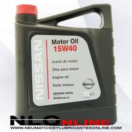 NISSAN MOTOR OIL 15W40 5L