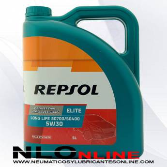 Repsol Elite Long Life 5W30 507.00/504.00 5L - 27.95 €