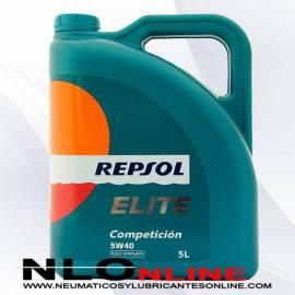 Repsol Elite Competición 5W40 5L - 25.95 €
