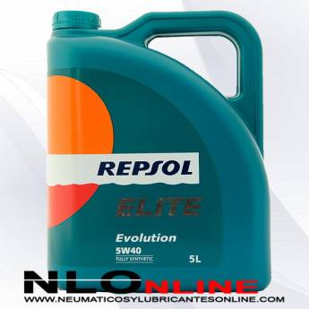 Repsol Elite Evolution 5W40 5L - 25.50 €
