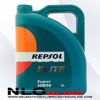 Repsol Elite Super 20W50 5L - 23.50 €