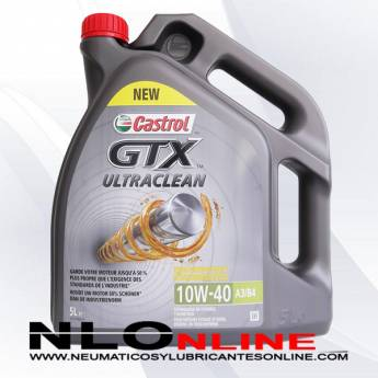 Castrol GTX ULTRACLEAN 10W40 A3/B4 5L - 22.50 €