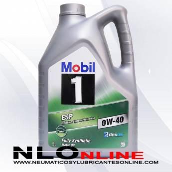 Mobil 1 ESP 0W40 5L - 37.25 €