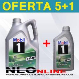Mobil 1 ESP 0W40 (5L+1L) - 47.30 €
