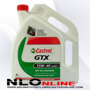 Castrol GTX 15W40 A3/B3 5L - 24.50 €