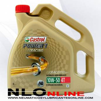 Castrol Power 1 Racing 4T 10W50 4L - 30.50 €