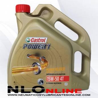Castrol Power 1 4T 15W50 4L - 26.50 €