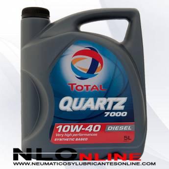 Total Quartz 7000 10W40 Diesel 5L - 19.95 €