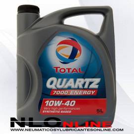 Aceite motor Total Quartz 7000 Energy 10W40 5L