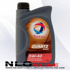 Aceite motor Total Quartz 9000 5W40 1L