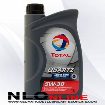 Total Quartz Ineo ECS 5W30 1L  - 8.75 €