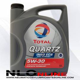 Total Quartz Ineo ECS 5W30 5L - 23.90 €