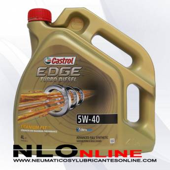 Castrol Edge Turbo Diesel 5W40 4L - 28.95 €