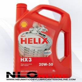 Shell Helix HX3 20W50 5L - 19.75 €