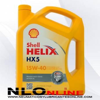 Shell Helix HX5 15W40 5L - 19.95 €