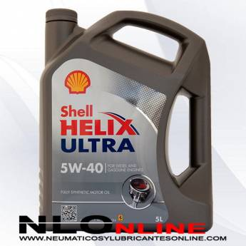 Shell Helix Ultra 5W40 5L - 29.50 €