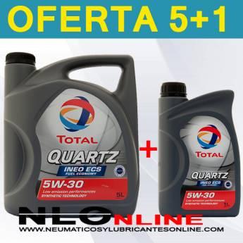 Total Quartz Ineo ECS 5W30 (5L+1L) - 31.25 €